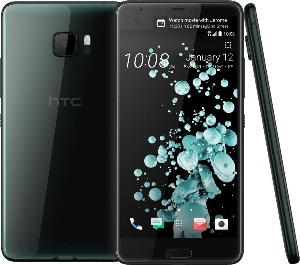 "Smartphone 5.7"" HTC U Ultra - QHD, 4 Go de Ram, 64 Go, Android 7.0 (vendeur tiers)"