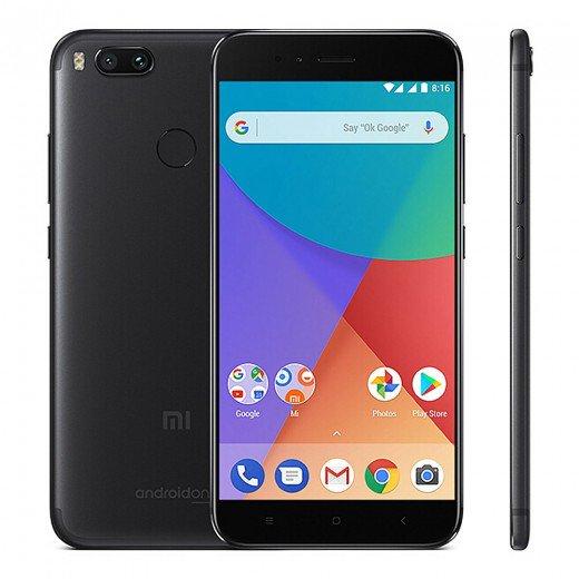 "Smartphone 5,5"" Xiaomi Mi A1 (Plusieurs coloris) - 4G (B20), Full HD, Snapdragon 625, RAM 4 Go, ROM 32 Go (vendeur tiers)"