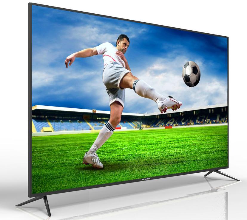 "TV LED 55"" Brandt B5508 - UHD 4K, Smart TV, 3 HDMI"