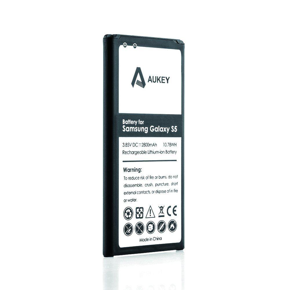 Batterie Aukey 2800mAh pour Samsung Galaxy S5 NFC compatible (panier plus)