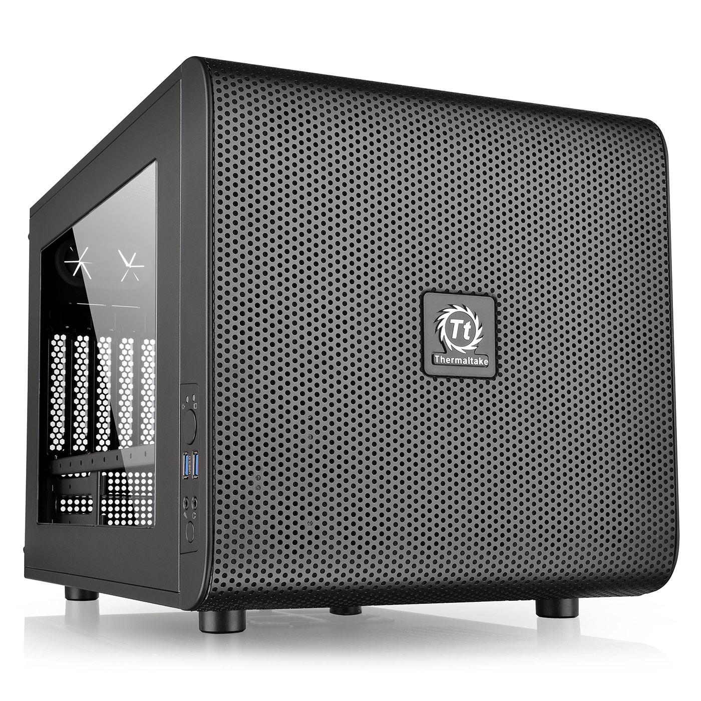 Boîtier empilable pour PC Thermaltake Core V21 - Micro-ATX