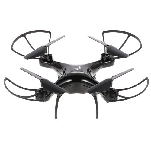 Drone Quadcopter LF601 (Noir ou Blanc) - Autonomie 23 min, Portée 100 m (2.4 GHz, 6 Axes)