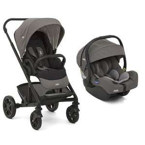 Poussette Duo Chrome Foggy avec Cosy IGemm Foggy grey