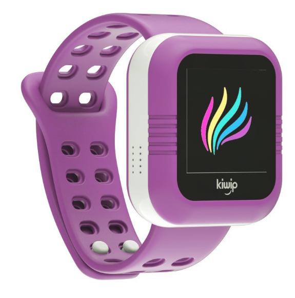 Montre enfant connectée Kiwip Watch - Violette