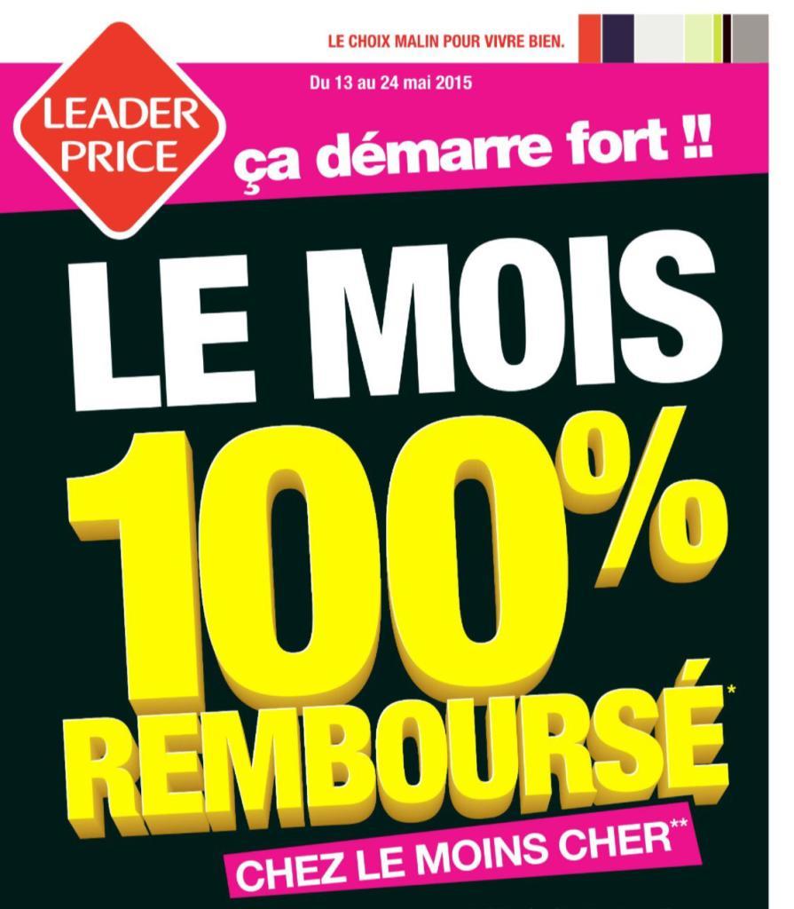 Sélection de produits 100% remboursés (via ODR)  - Ex : Saumon fumé de Norvège Labeyrie gratuit