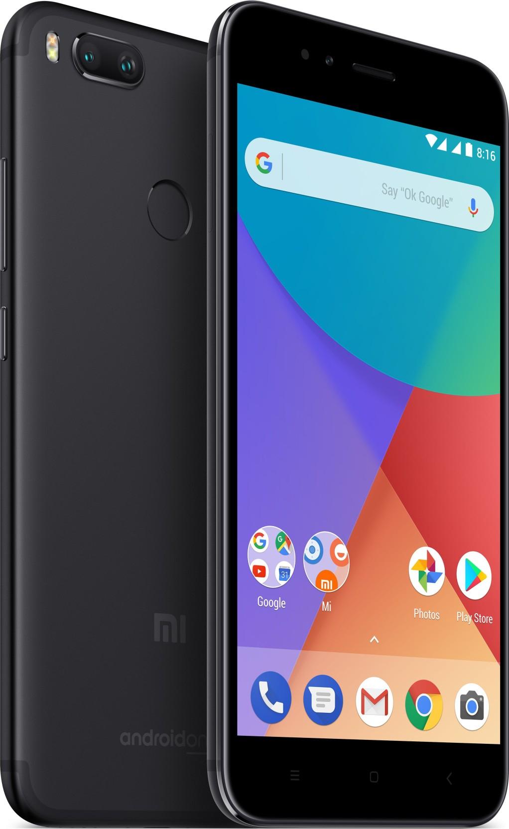 """Smartphone 5,5"""" Xiaomi Mi A1 (Noir) - 4G (B20), Full HD, Snapdragon 625, RAM 4 Go, ROM 32 Go"""