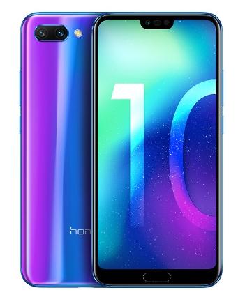 "Smartphone 5.84"" Honor 10 - Full HD+, Kirin 970, 4 Go RAM, 64 Go ROM (en s'inscrivant à la newsletter)"