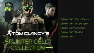 Tom Clancy's Splinter Cell Collection sur PC (Dématérialisé - Uplay)