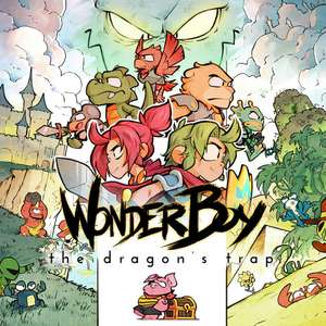 Jeu Wonder Boy : The Dragon's Trap sur Nintendo Switch (Dématérialisé)