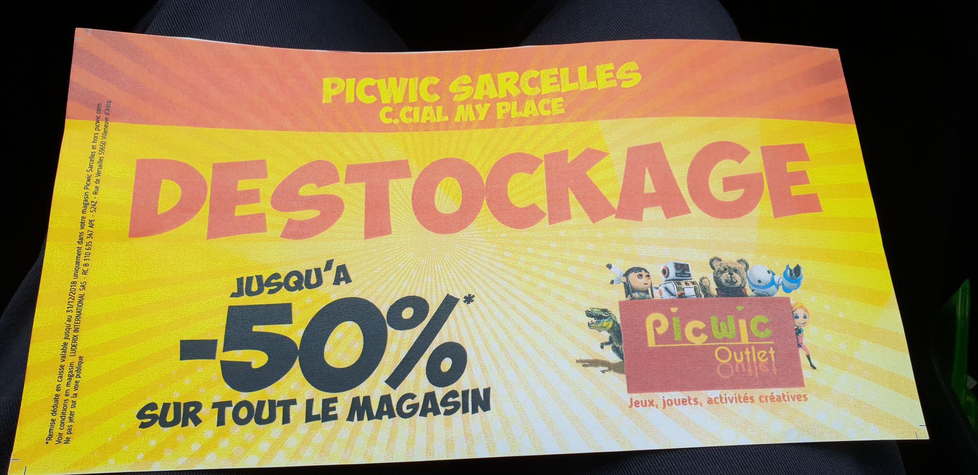 Jusqu'à 50% de remise sur tout le magasin - Sarcelles (95)