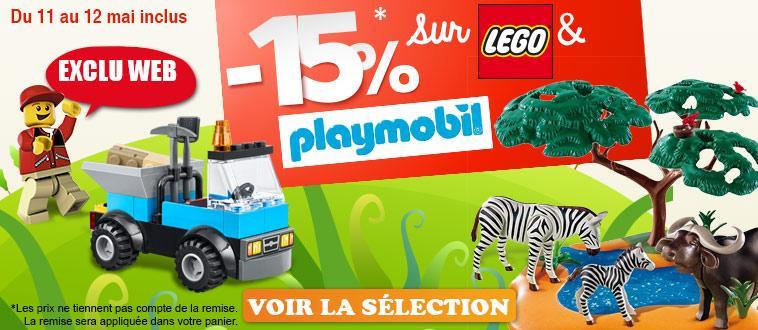 75% de remise sur sélection de jouets et 15% de réduction sur les Lego, Playmobil et Duplo - Ex: Ensemble bricolage bosch