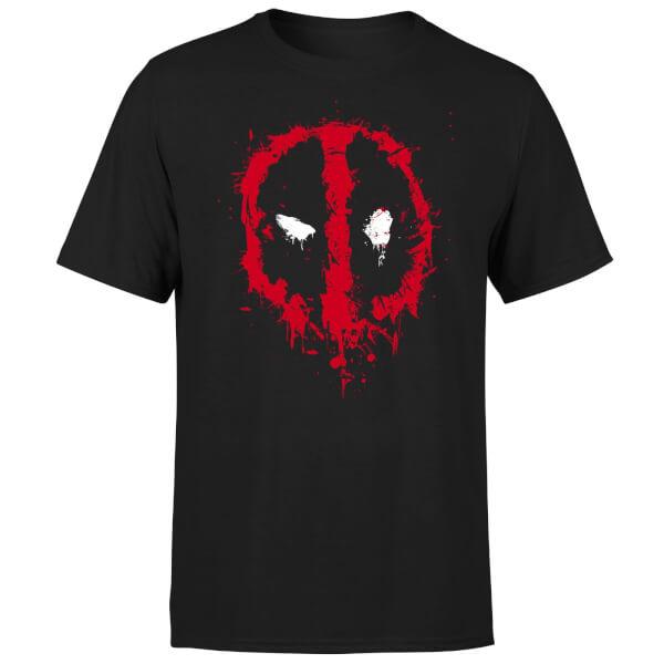 T-shirt homme ou femme Deadpool  Splat Face - 100% Coton (Taille au choix)