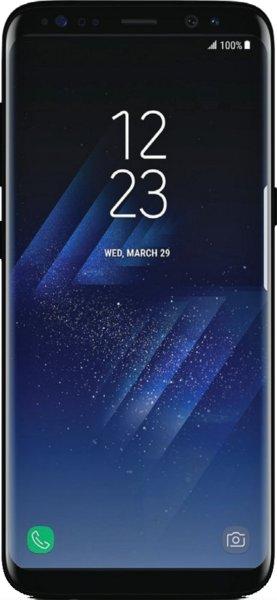 """Smartphone 5.8"""" Samsung Galaxy S8 - Exynos 8895, 4 Go de RAM, 64 Go, noir (vendeur tiers)"""