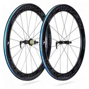 "Paire de Roues 28"" Reynolds Strike SLG Carbone Clincher"