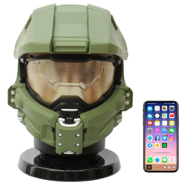 Enceinte Sans-FIl AC Worldwide Halo Master Chief - Bluetooth / NFC