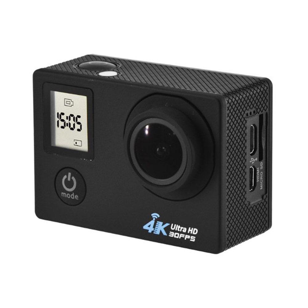 Camera sportive WabFit Pro One noir - 4K30fps + Boiter étanche - Noire