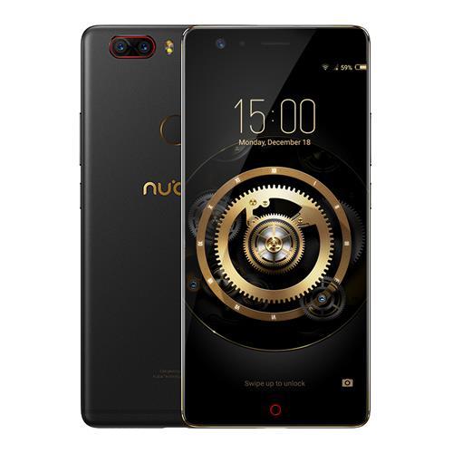 """Smartphone 5.5"""" Nubia Z17 Lite - SnapDrahon 653, 6 Go de RAM, 64 Go, noir, 4G (sans B20)"""