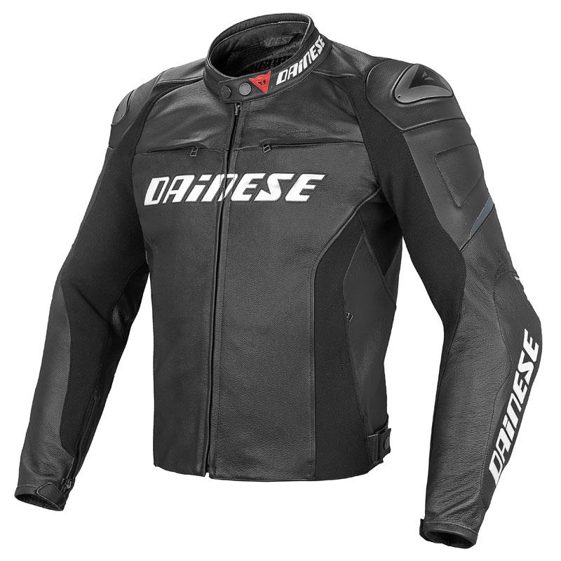 Blouson en cuir pour motard Dainese racing D1 pelle