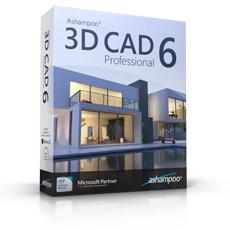 Logiciel d'édition de plans Ashampoo 3D Professionnal (dématérialisé)