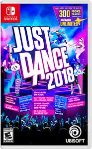 Just Dance 2018 sur Nintendo Switch (Store Canadien)