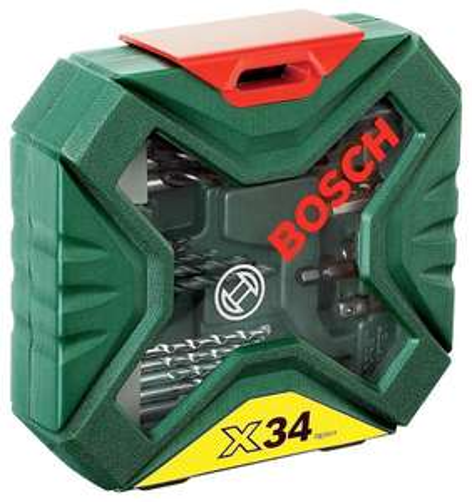 Coffret Bosch X-Line Classic de 34 pièces pour perçage et vissage