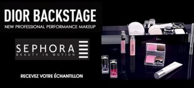 Échantillon Fond de teint Dior Backstage gratuit
