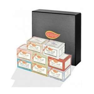 Coffret assortiment de savons Premium Alepia
