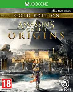 Jeu Assassin's Creed Origins + Season Pass - Gold Edition sur Xbox One & PS4