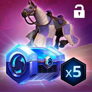 [Twitch Prime] Monture + 5 coffres rares offerts pour Heroes Of The Storm / Monture Paladin / Coffres Call of Duty WW2
