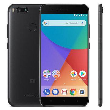 """Smartphone 5,5"""" Xiaomi Mi A1 (Noir) - Full HD, Snapdragon 625, RAM 4 Go, ROM 64 Go, 4G (B20)"""