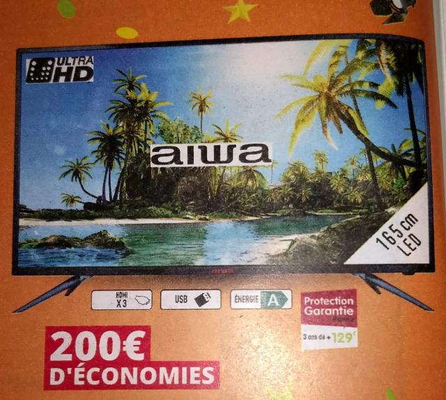 "TV 65"" Aiwa 65AU200 - 4K"