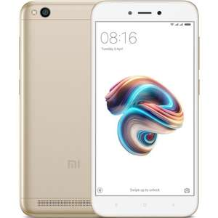 "Smartphone 5"" Xiaomi Redmi 5A - 4G (B20), HD, Snapdragon 425, RAM 2 Go, ROM 16 Go (Vendu et expédié par Cdiscount)"