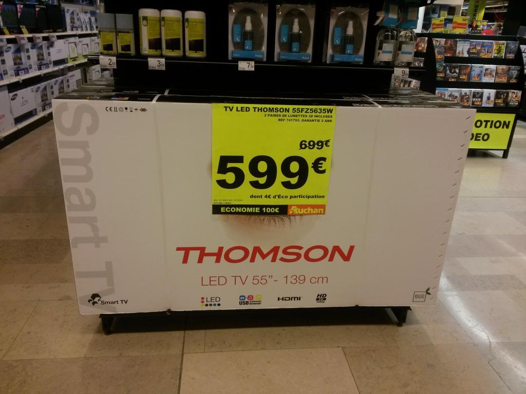 Tv LED 3D Thomson 55FZ5635W