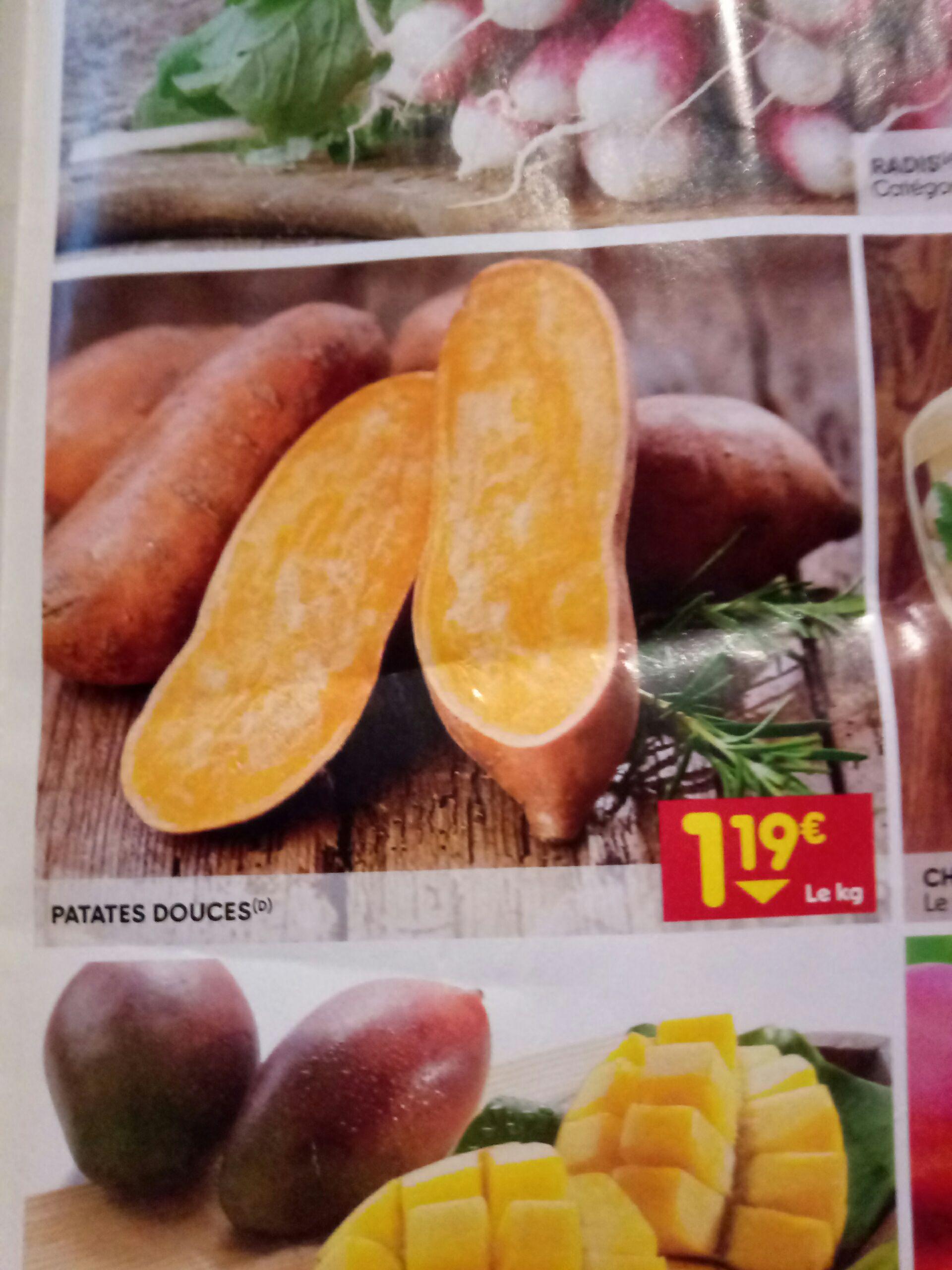 Patates douces - le kilo