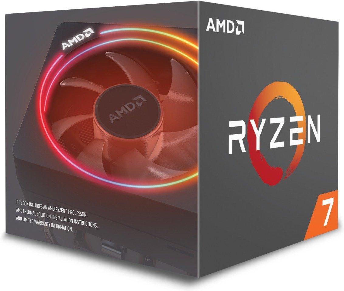 Processeur AMD Ryzen 7 2700X (3.7 GHz) + Wraith Prism