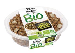 Sélection de Salades Bio Pierre Martinet en Promotion et achat en drive leclerc (Via BDR Shopmium)