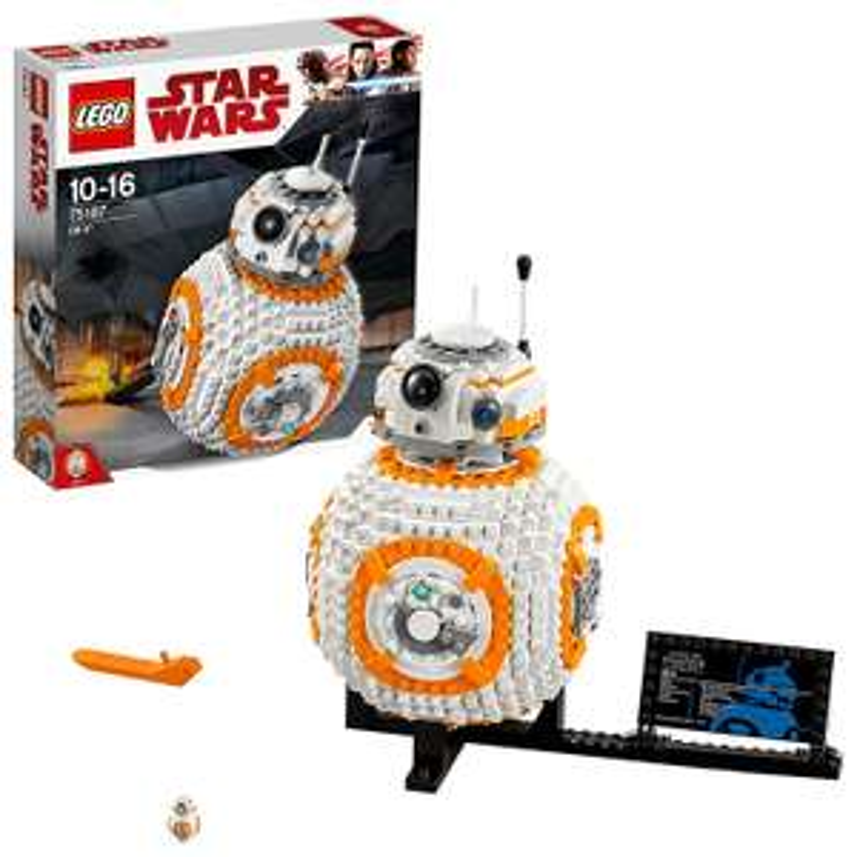 20% de réduction sur une sélection de jouets Lego Star Wars - Ex : Jouet Lego Star Wars 75187 BB-8 à 56.70€