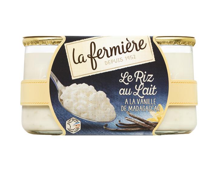 Sélection de produits en promotion - Ex : Riz au Lait la Fermière - 2x160g (via Shopmium)