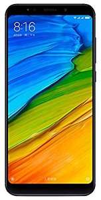"Smartphone 5.99"" Xiaomi Redmi 5 Plus - ROM 64 Go, RAM 4 Go, Full HD+, Snapdragon 625, NOIRE"