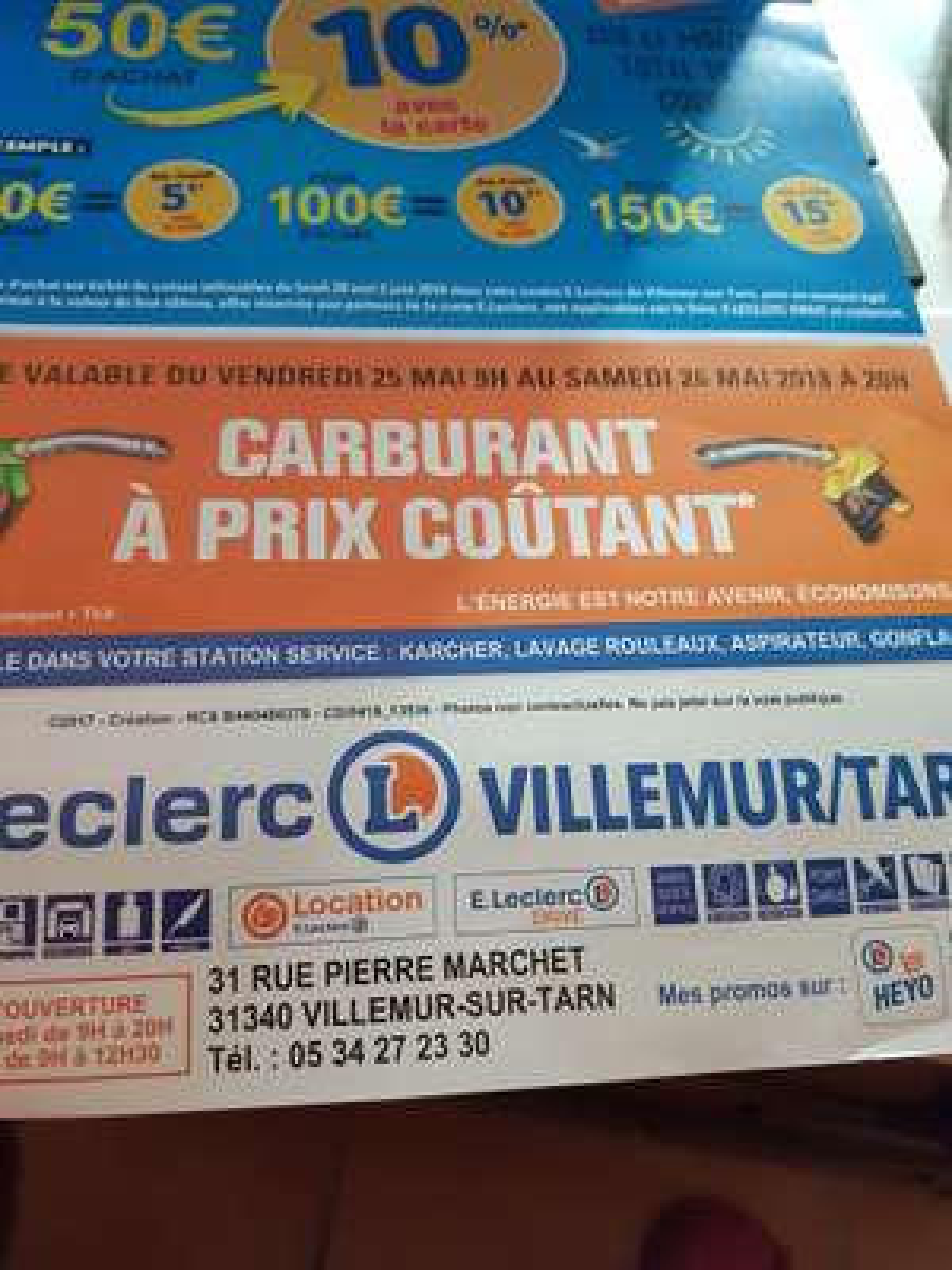Carburant à prix coûtant - Villemur sur Tarn (31)