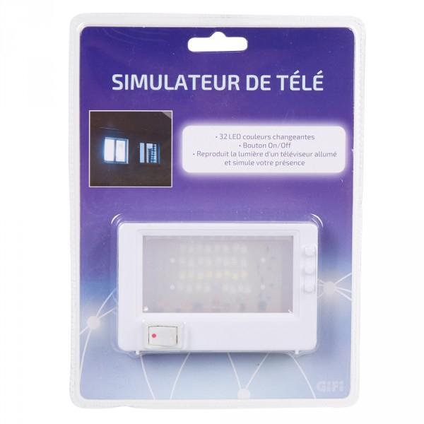 Simulateur de téléviseur anti-cambriolage - 32 LEDs