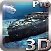 Sélection d'application gratuites sur Android - Ex : Titanic 3D Pro live wallpaper