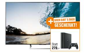 "TV LED 65"" Sony KD-65XE8505 - UHD 4K, 10bits, 100Hz, Smart TV + Console Sony PS4 Slim 500 Go (Frontaliers Allemagne)"