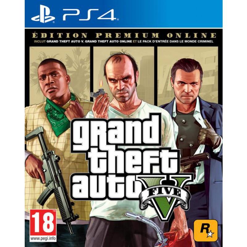 Grand Theft Auto V (GTA V) : Edition Premium Online