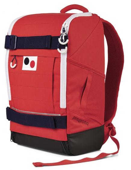Sélection de sacs pinqponq en promotion - Ex : Sac à dos Cubiq Large Red - 24 Litres