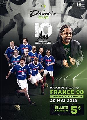Sélection de Billets pour le Match de gala France 98 le 29 Mai 2018 - Ex : Tribune haute - Paris (75)