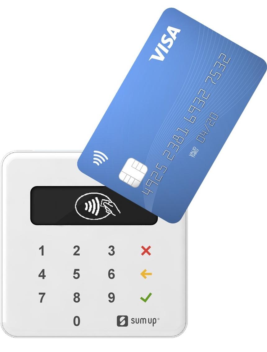Terminal de paiement avec ou sans-contact Sum Up Air