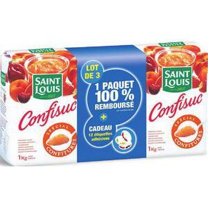 3kg de sucre pour confiture Confisuc (avec 2.90€ sur la carte + ODR 1.93€)
