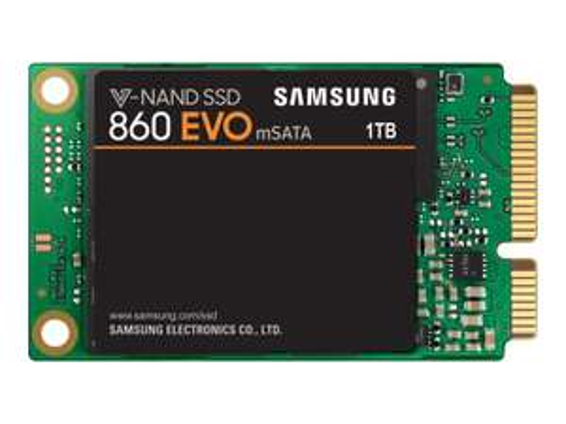 SSD interne mSATA Samsung 860 Evo (3D V-Nand) - 1 To