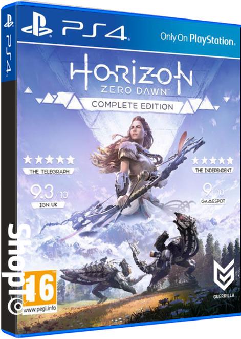 Jeu Horizon Zero Dawn sur PS4 - Complete Edition (en VOSTFR)